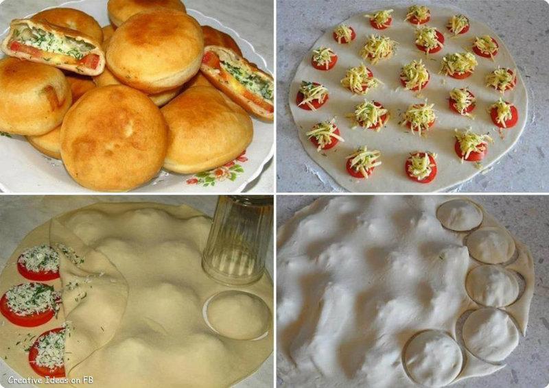 Tuto beignets tomate boursin la recette for Astuce cuisine rapide