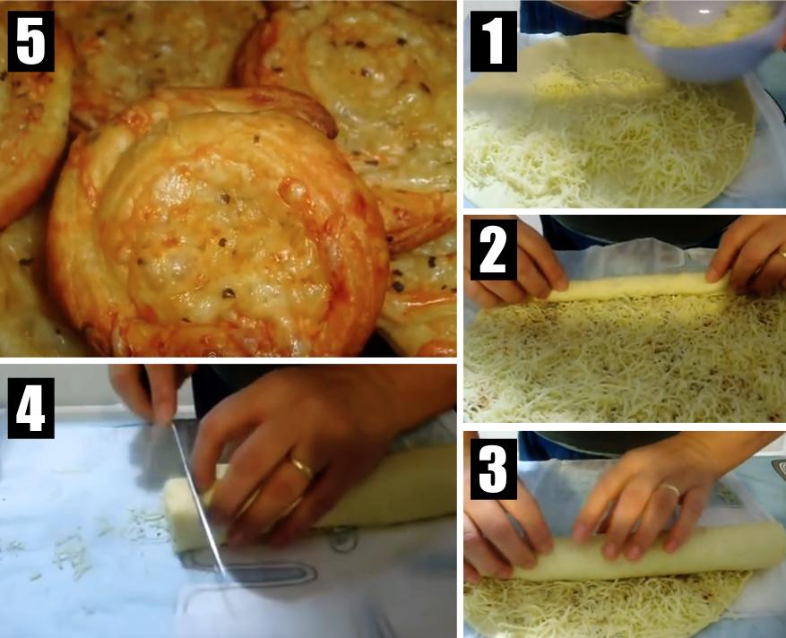 Un apéro gourmand : les roulés au fromage