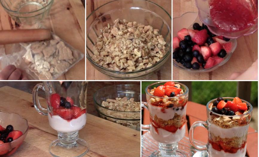recette parfaite aux fruits et yaourt la recette. Black Bedroom Furniture Sets. Home Design Ideas