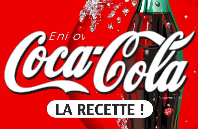 La recette maison du Coca Cola !