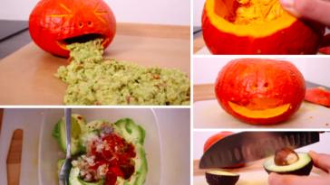 Halloween: guacamole vomit