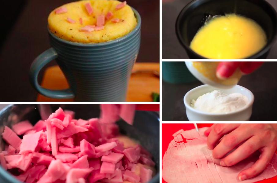 Recette Mug Cake Jambon
