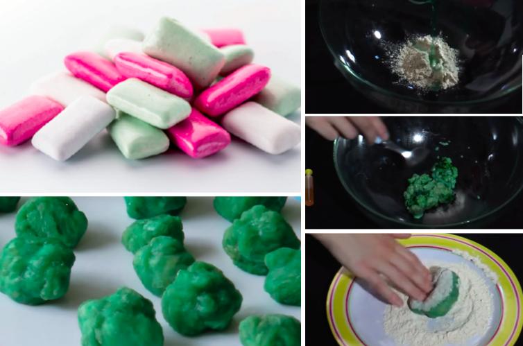 comment fabriquer du chewing gum la recette. Black Bedroom Furniture Sets. Home Design Ideas