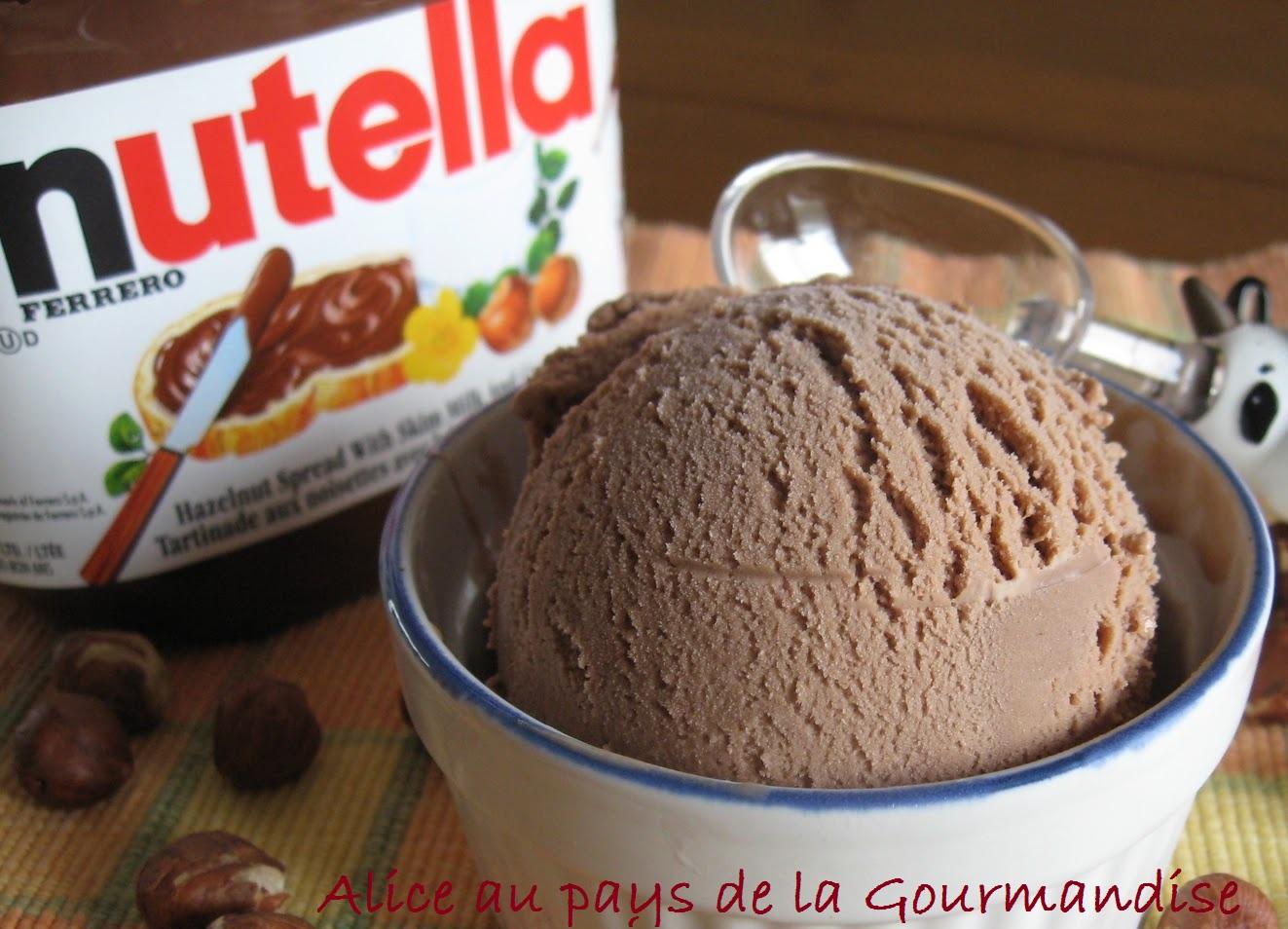enfin la recette de la glace au nutella la recette