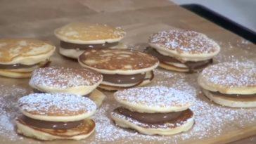 pancakes macarons