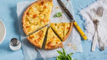 tarte légumes fromage