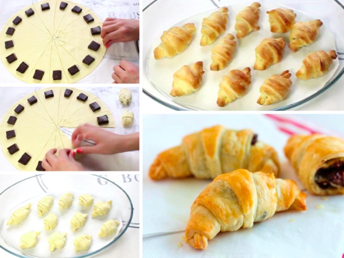 Comment Faire Des Mini Croissants Au Chocolat La Recette