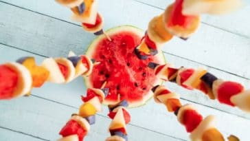 17 brochettes de fruit originales