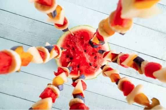 Idee De Brochette.16 Idées De Brochettes De Fruits Originales