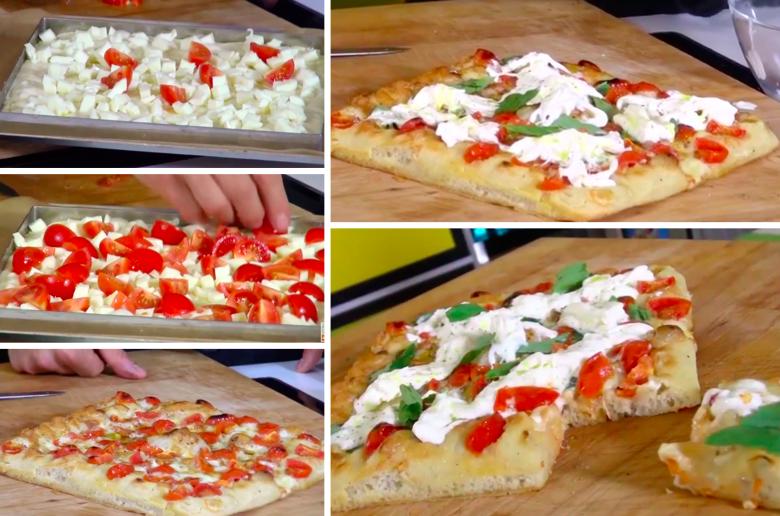 comment faire la d licieuse pizza testarossa la recette. Black Bedroom Furniture Sets. Home Design Ideas