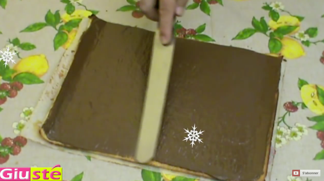 bûche Noël pistache Nutella 9