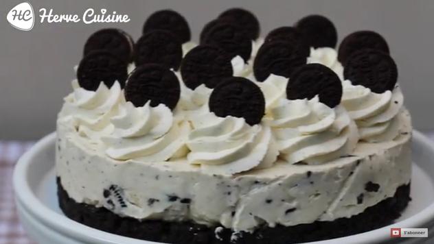 Un délicieux cheesecake Oreo sans cuisson - La Recette