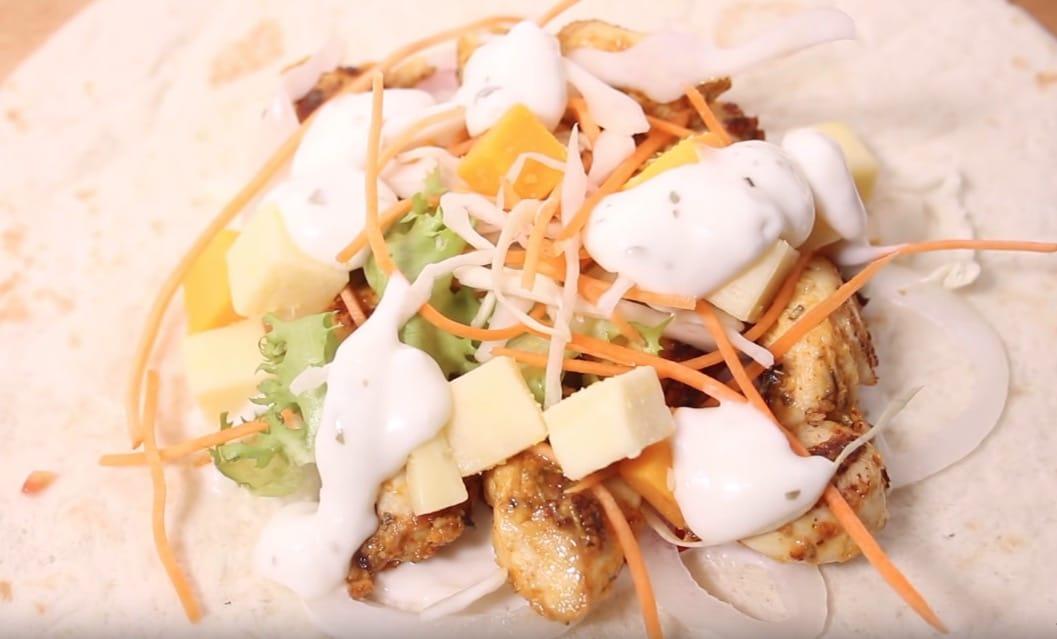 tacos poulet maison