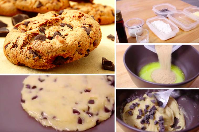 comment faire de d licieux cookies au micro ondes la recette. Black Bedroom Furniture Sets. Home Design Ideas