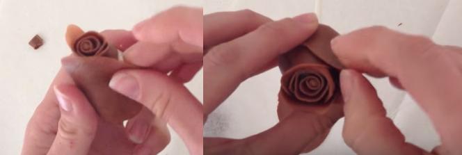 Rose en choco5