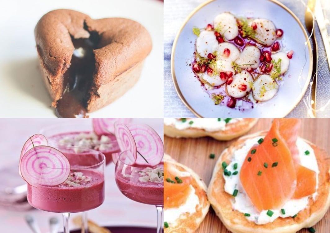 16 idées de recettes saint-valentin