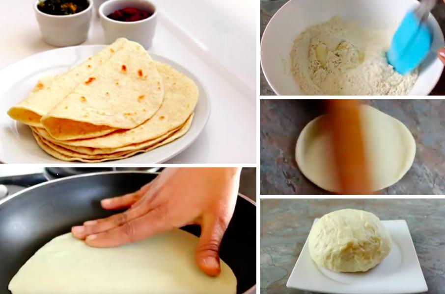 La recette absolument inratable des tortillas maison au blé