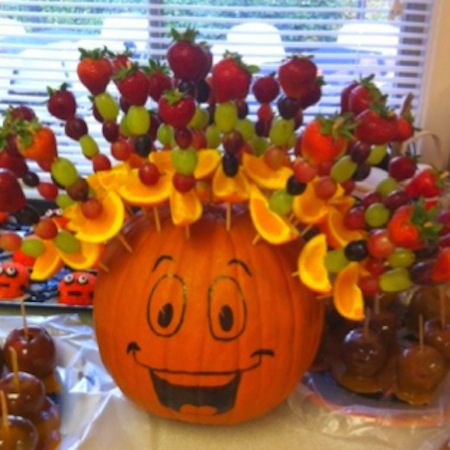 64-non-candy-halloween-snack-ideas-pumpkin-afro