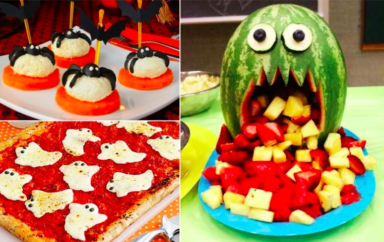32 nouvelles id es de recettes amusantes pour halloween la recette - Idee menu halloween ...