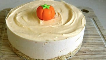 cheesecake citrouille halloween