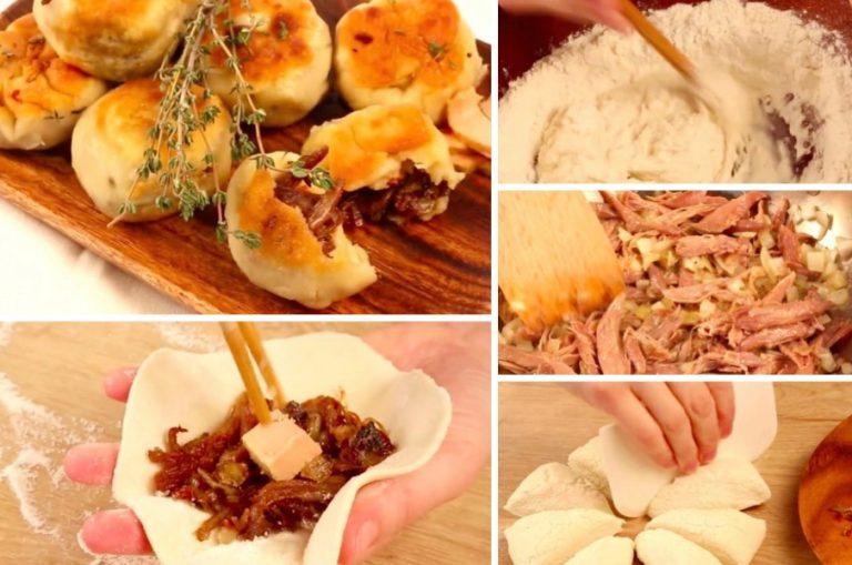 Les bouch es au canard et au foie gras pour une entr e for Entree originale hiver