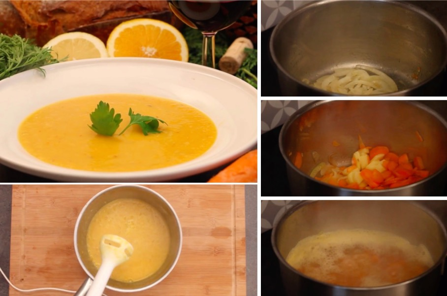 la soupe tr s gourmande pour faire le plein de vitamines cet hiver la recette. Black Bedroom Furniture Sets. Home Design Ideas