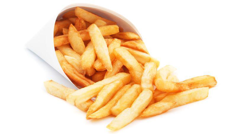 frites tremper avec lait