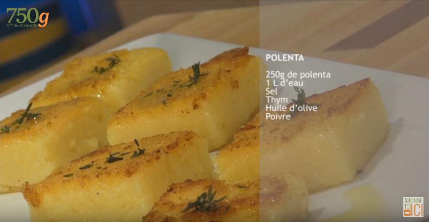 La recette facile de la polenta maison la recette - Comment cuire la polenta ...