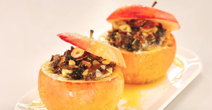 La recette des pommes d'automne au four