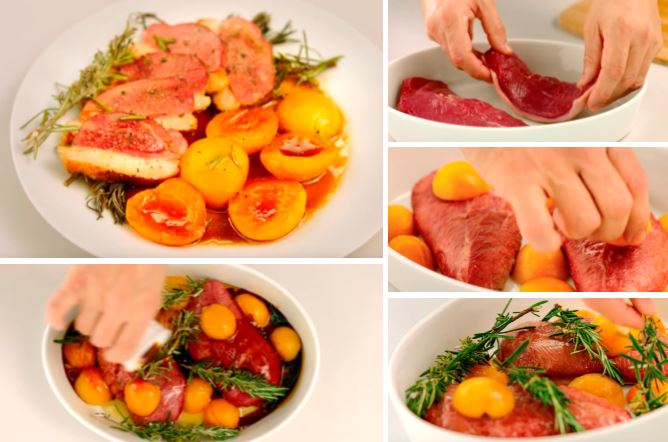 La délicieuse recette du magret à l'abricot et au romarin pour la fin de l'été
