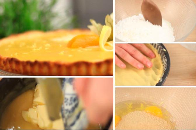 Une tarte au citron tr s simple faire et d licieuse manger la recette - Recette tarte au citron simple ...