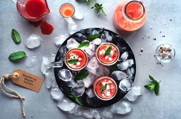 gaspacho fraises pastèque