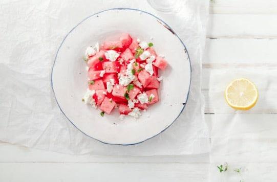 salade pastèque feta