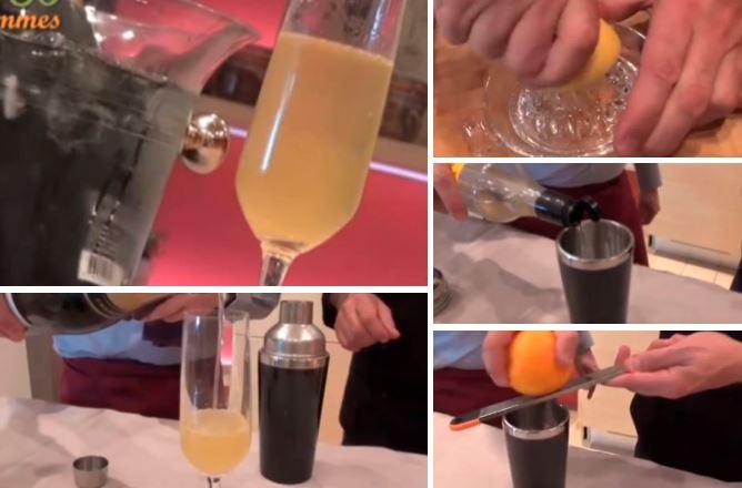 la soupe de champagne un cocktail id al pour toutes les grandes f tes la recette. Black Bedroom Furniture Sets. Home Design Ideas