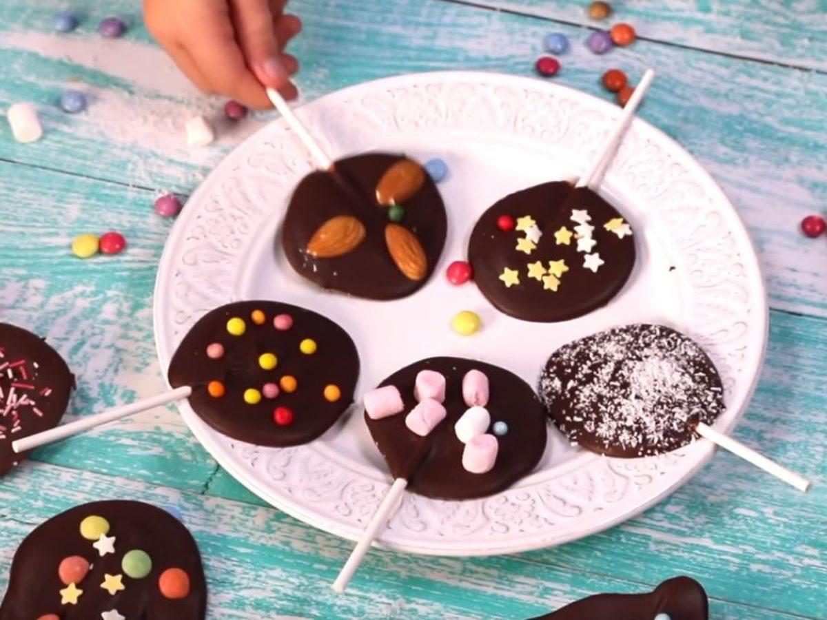 Les Sucettes Au Chocolat Ideales Pour Les Enfants