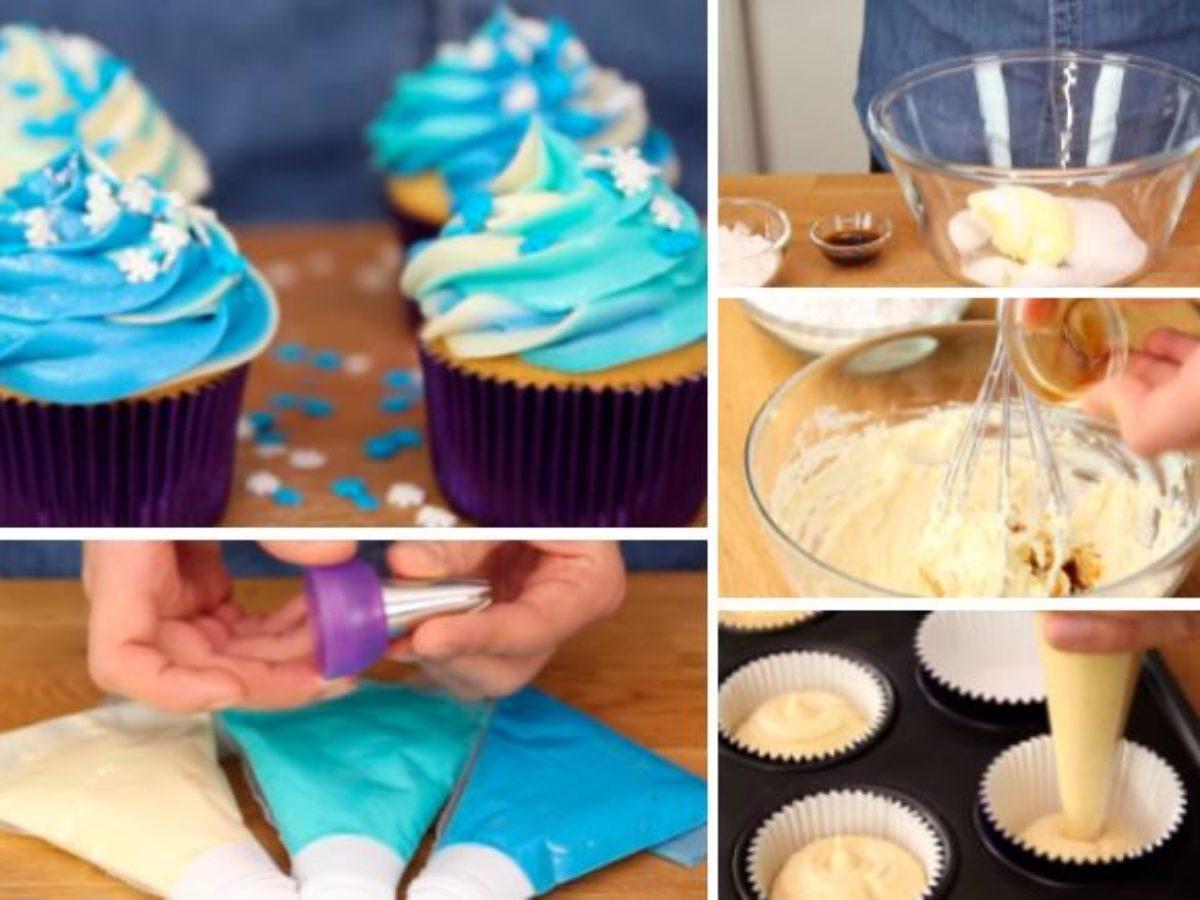 La Recette Des Cupcakes Facon Reine Des Neiges La Recette