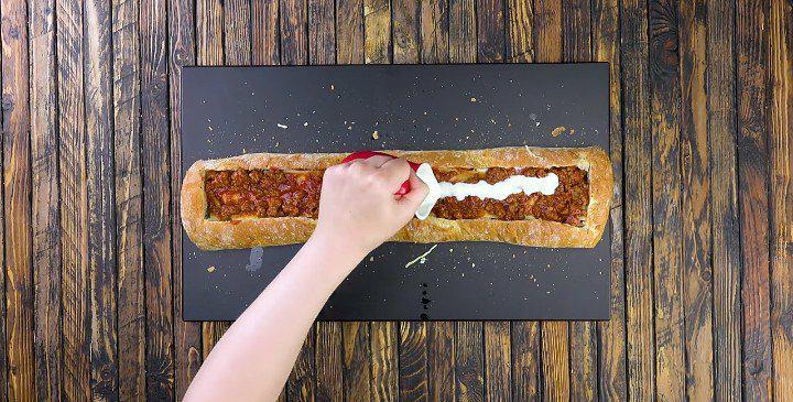 Le sandwich gourmand aux lasagnes