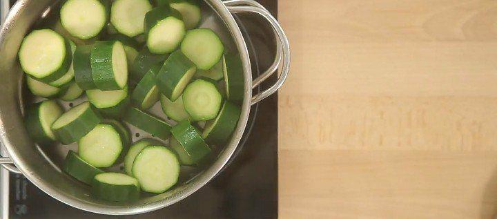 Curry végétarien aux lentilles et courgettes