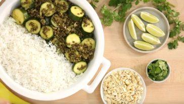 Curry végétarien aux lentilles et courgettes4