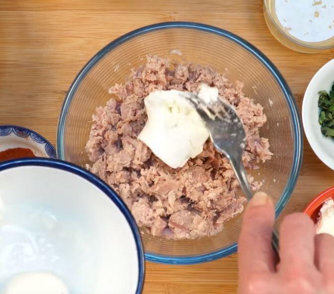 Des rillettes de thon au basilic à tartiner1