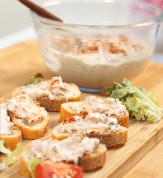 Des rillettes de thon au basilic à tartiner3