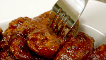 croquettes de poulet sauce barbecue