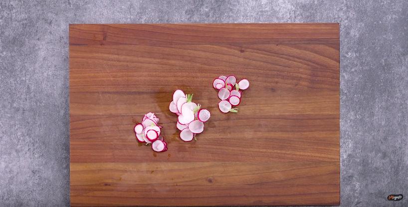 Recette du gaspacho aux radis roses