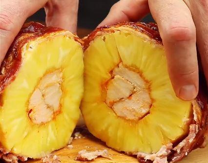Ananas farcie