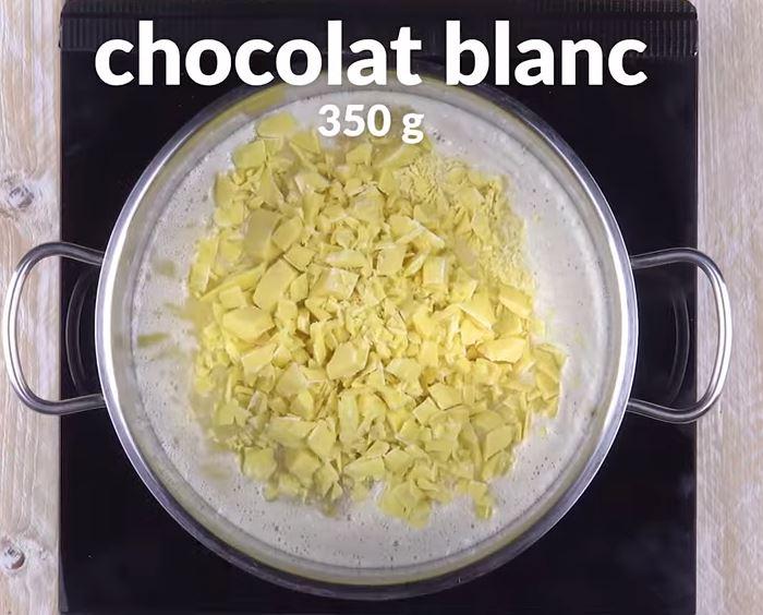 Cheesecake sans cuisson et son glaçage coloré