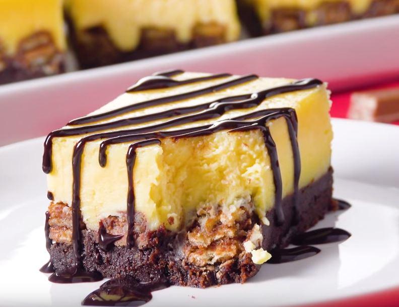 Gâteau au chocolat et au KitKat6