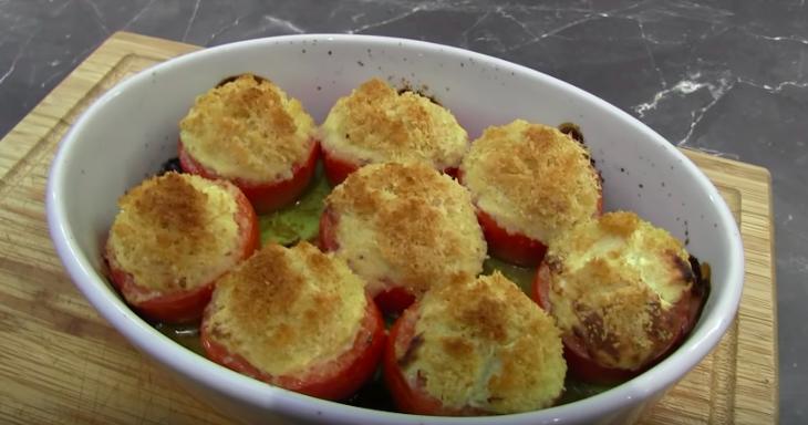 Les tomates farcies au chèvre