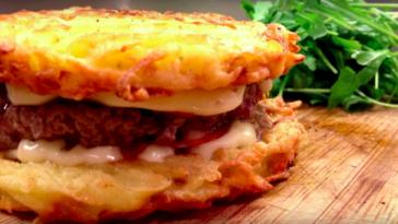 Le burger des Alpes