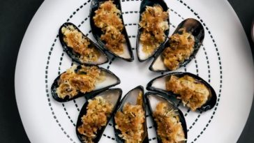 Moules coco apéritives