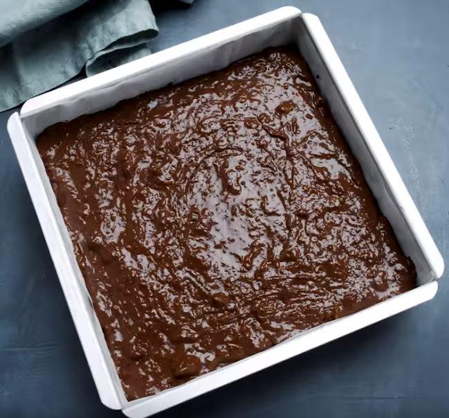 Un brownie où la courgette remplace le beurre4